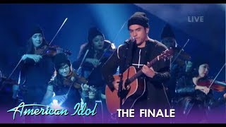 Alejandro Aranda Performs With FULL Orchestra Band For The First Time Ever! | American Idol 2019