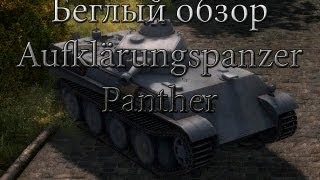 Очень беглый обзор Aufklärungspanzer Panther