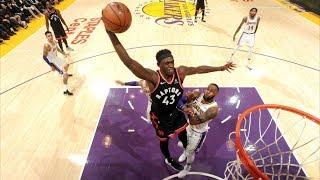 Serge Ibaka 34 Points Career High vs Lakers! No Kawhi! 2018-19 NBA Season