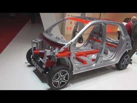 Smart Tridion Safety Cell (2016) Exterior and Interior in 3D