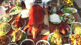 Chinese New Year in Cambodia: Offerings During New Year