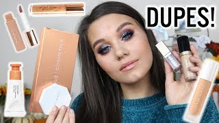 FULL FACE OF DUPES FOR EXPENSIVE HIGH END MAKEUP | FALL EDITION