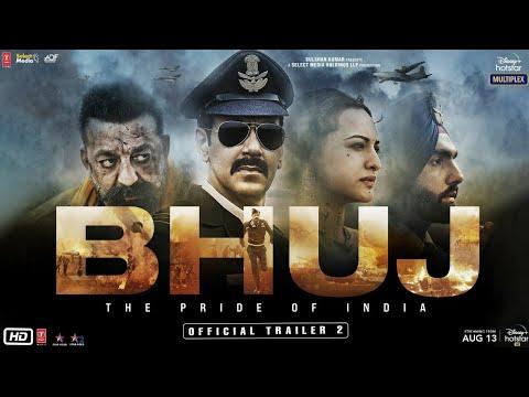 Trailer 2 of Bhuj: The Pride of India ft. Ajay Devgn, Sanjay Dutt, Sonakshi Sinha