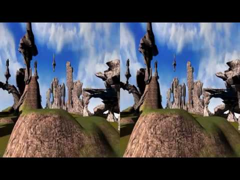 Stone Age as seen by 3Dstreaming (YT3D)