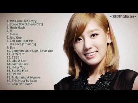 Best Songs Of Kim Taeyeon Girl's Generation    Taeyeon 태연SNSD Collection 2004   2014 360p