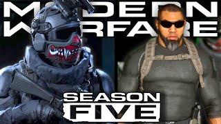 Modern Warfare Season 5: New Operators Revealed (Shadow Company)