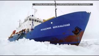 Spirits High Despite Rescue Snag in Antarctica