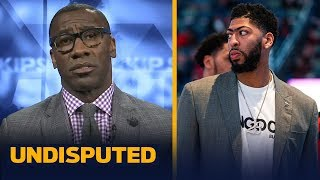 AD-Knicks trade 'makes no sense' if KD joins & is out a year — Shannon Sharpe | NBA | UNDISPUTED
