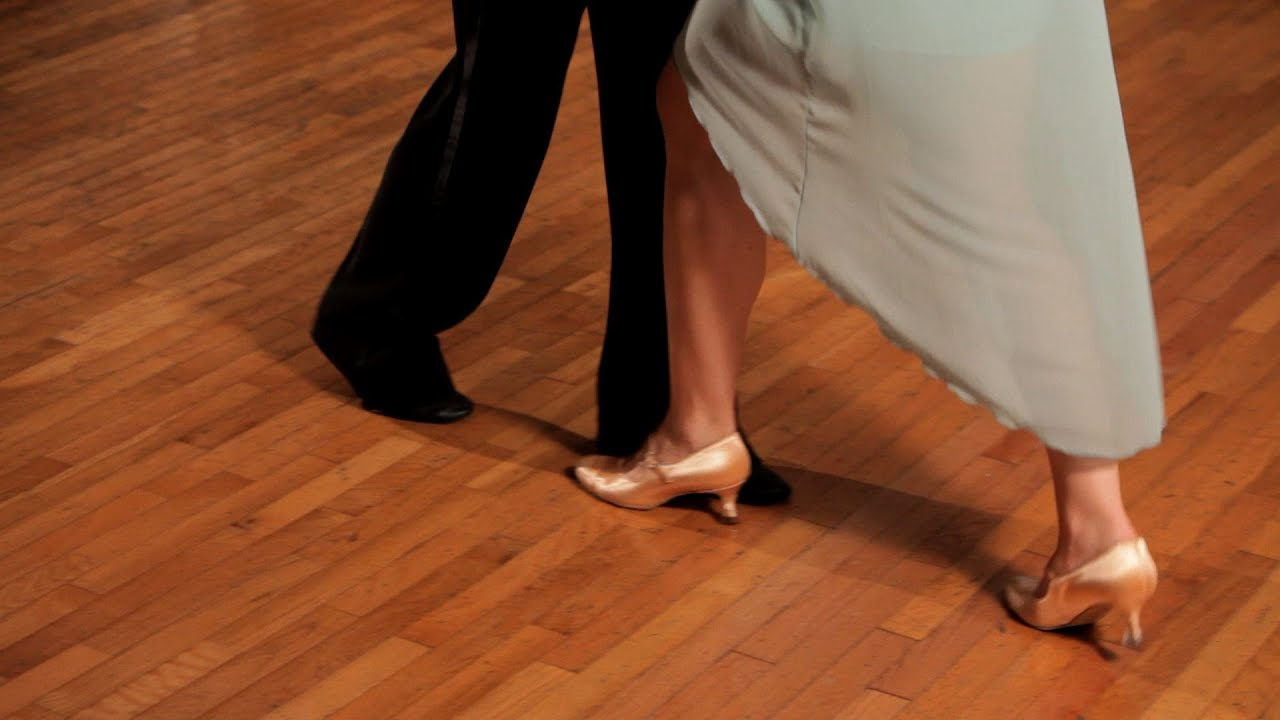 How To Do The Waltz Box Step Ballroom Dance Youtube