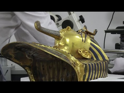 Henkel's adhesives experts help restore Tut Ankh Amun's mask
