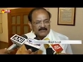Watch: Venkaiah Naidu speaks to media on Tamil Nadu politics