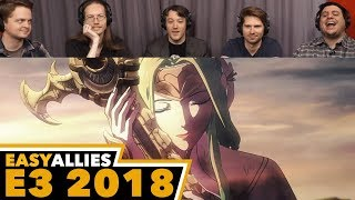 Fire Emblem: Three Houses - Easy Allies Reactions - E3 2018