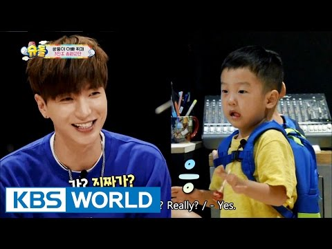 Twins' House - Hallyu star uncle visits the twins [The Return of Superman / 2016.09.18]