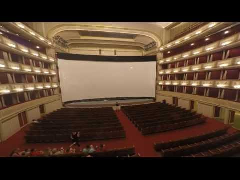 Time-lapse video shows IMAX's transformation of Vienna Opera House for worldwide premiere of Mission: Impossible - Rogue Nation.