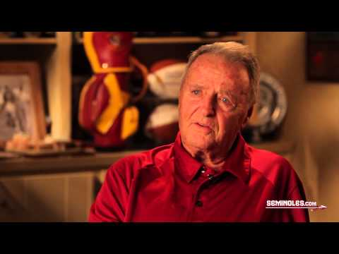 Bobby Bowden Returns to Doak This Fall - YouTube