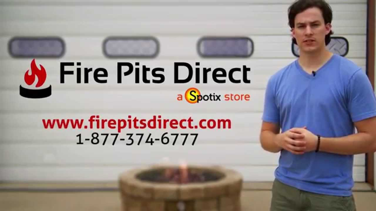 Diy How To Build A Gas Fire Pit Youtube
