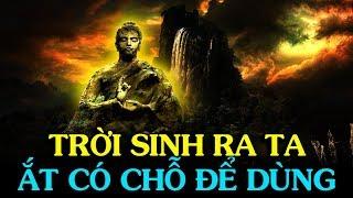 Sống trên đời đừng bi lụy, TRỜI SINH RA TA ẮT CÓ CHỖ ĐỂ DÙNG - Thiền Đạo