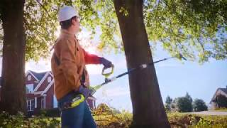 "Video: 40V 8"" Pole Saw with 2Ah Battery & Charger"