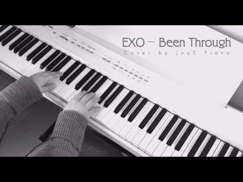 """EXO-""""지나갈테니"""" (Been Through) Piano Cover By JoyS piano"""