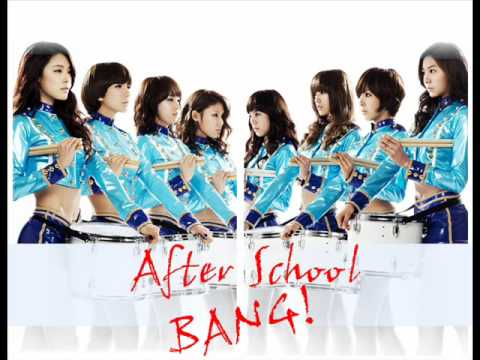 After school - BANG (instrumental)