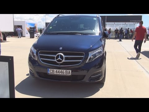 Mercedes Benz V 250d (2016) Exterior and Interior in 3D