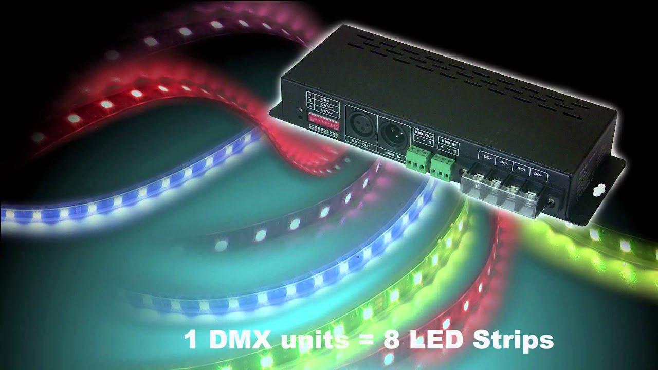 How To Control Led Strips Over Dmx Ledstripstudio Com