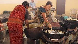 Delicious Indian Cuisine | Indian Popular Street Food | Mirchi Bajji Recipe | Telugu Adda