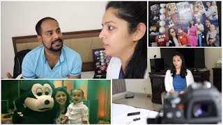 TIP OF THE DAY    HUSBAND'S CONCERN    HAD FUN AT A BIRTHDAY PARTY    MomComIndia Vlogs