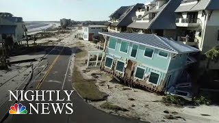 Hurricane Michael Obliterates Mexico Beach, Florida | NBC Nightly News