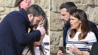 Ben Affleck And Jennifer Garner Reunite For Church