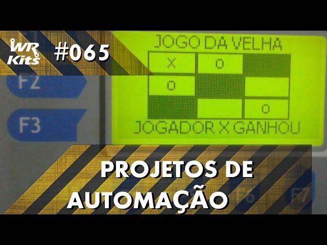 JOGO DA VELHA 2.0 COM CLP ALTUS DUO | Projetos de Automação #065