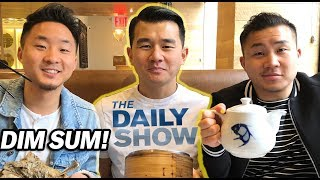 Michelin Star DIM SUM w/ RONNY CHIENG from The Daily Show w/ Trevor Noah // Fung Bros