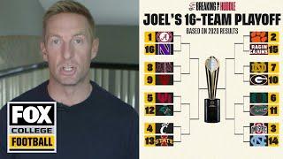 10, 14, or 16-team playoff? Klatt's ideas for expansion   Breaking the Huddle w/Joel Klatt   FOX CFB