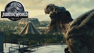How Did Rexy Survive After The Events of Jurassic Park - Jurassic World Fallen Kingdom Dinosaurs
