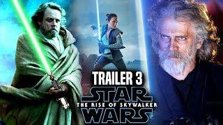 The Rise Of Skywalker Trailer 3 HUGE News Revealed! (Star Wars Episode 9 Trailer 3)