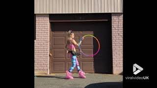 Hula Hooping like a pro || Viral Video UK
