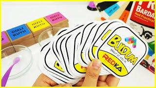Buldum Zeka Oyunu ile Slime Challenge - Mystery Wheel of DUMP IT Slime Challenge - Vak Vak TV
