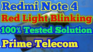Redmi red light blinking issue solved  - Nelluri Pavan kumar