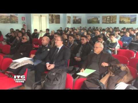ITG LAMEZIA TERME - CONVEGNO SU SISTEMI INNOVATIVI DI PROTEZIONE SISMICA 15 Gennaio 2016