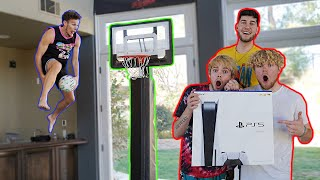 Win The Dunk Contest, I'll Buy You A PS5! (Feat. Jesser & Moochie)