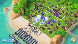 Boom Beach افضل هجوم في لعبة -