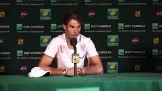 2016 Rafael Nadal 4R Press Conference