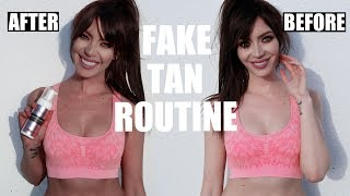 MY TANNING ROUTINE | Tips for Perfect Fake Tan