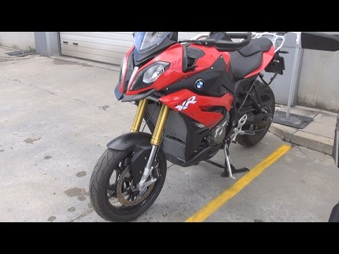 BMW Motorrad S 1000 XR Racing Red (2016) Exterior and Interior in 3D