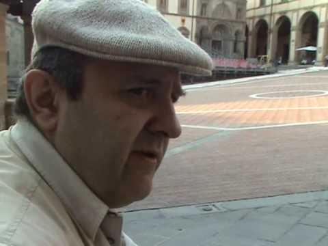 Alessio Comanducci in Piazza Grande