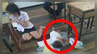 10 UNBELIEVABLE Reactions -- Students Bring Babies to School