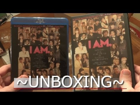 Unboxing - I AM: SM TOWN (DVD/Blu-Ray)