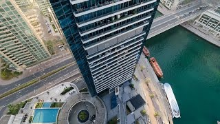 Studio Apartment For Rent in Silverene Tower B Dubai Marina
