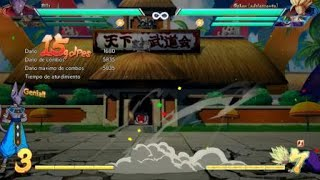 DRAGON BALL FighterZ lvl1 to lvl3 grab