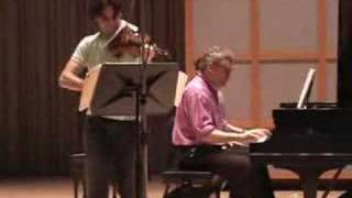 Philippe Quint and William Wolfram record for NAXOS